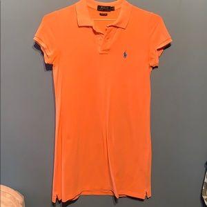 Short sleeve Ralph Lauren polo dress.